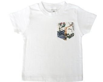 64956977 Australian Sketched Animals Print Pocket Tee - Australian Clothing for Baby  Boys and Girls - Sydney, Australia