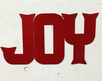 """Metal Joy Sign 12"""" x 6.5"""""""