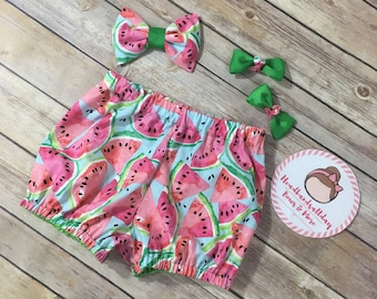 Watermelon bubble shorts