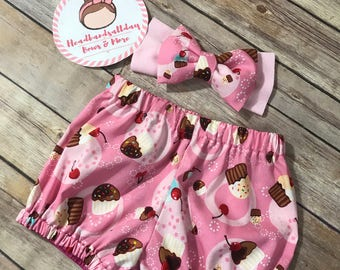 Sweet treats bubble shorts