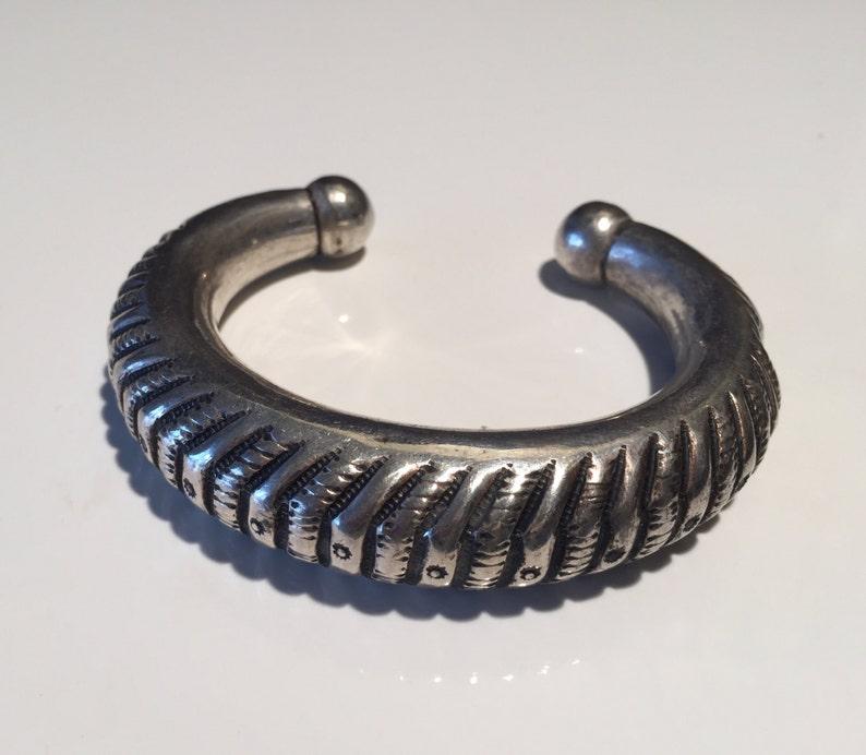 Berber bracelet Tribal bracelet Vintage Rajasthani silver bracelet Tuareg bracelet Turkmen bracelet Kochi bracelet antique bracelet