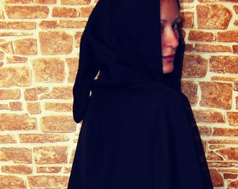 Assassin's Style Hooded Cape