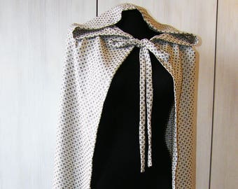 Hooded Stars Cloak, Hooded Cape, Medieval Unisex Cloak, cape viking, unisex cape