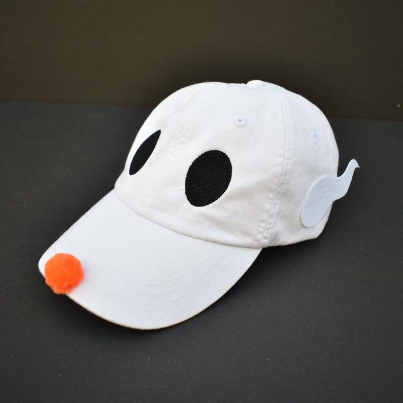 Ghost Dog Dad Hat    original design by Brand By You   jack  0a306f26c8d