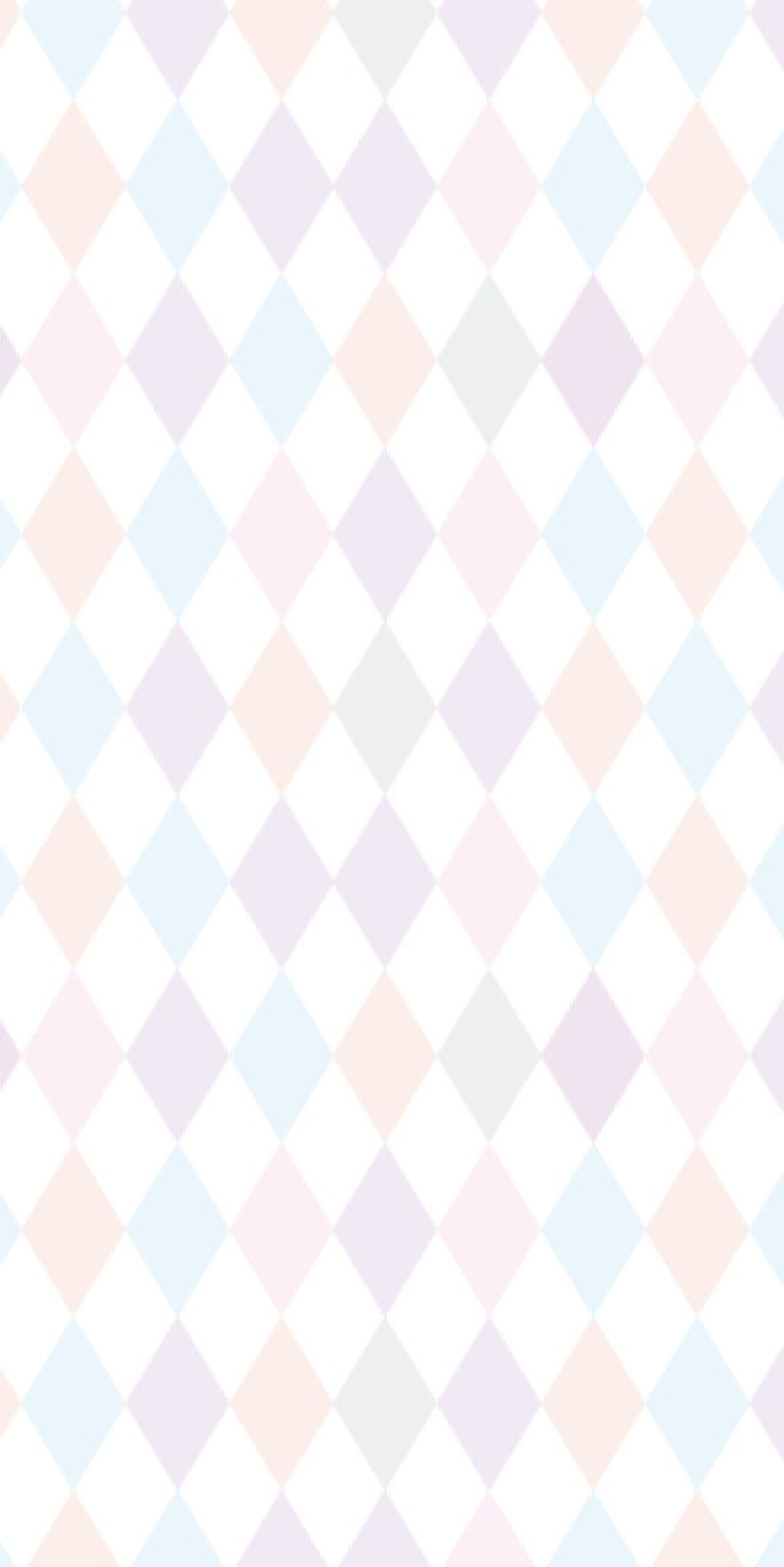 nursery wallpaper Peel and stick wallpaper Removable Wallpaper Self adhesive pastel wallpaper nursery decor diamond wallpaper