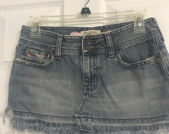 38e5de0fed AF blue jean mini skirt