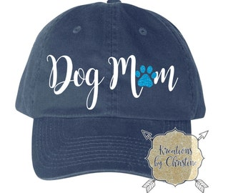 Dog Mom Hat, Baseball Hat, Dad Hat, Dad Cap