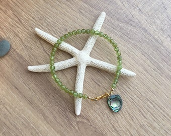 Peridot Bracelet, Gemstone bracelet
