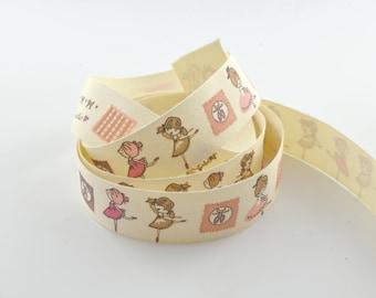 Pattern 20 mm dancer cotton twill tape