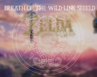 Zelda-Breath of the Wind- Link Shield Blueprint