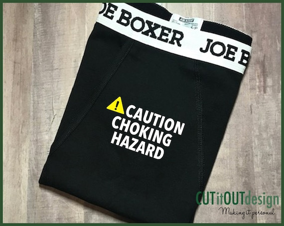 Boxers Boyfriend Gift Mens Novelty Custom Boxers Valentines Day Gift Mens Husband Gift Boxers Valentines Gift Choking Hazard Boxer