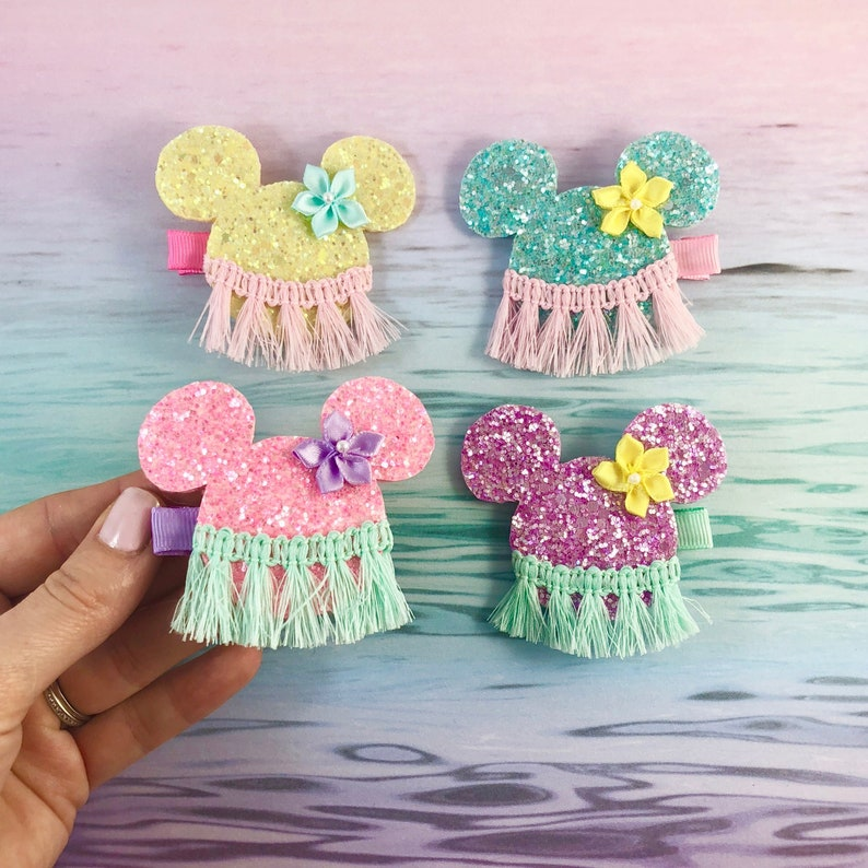 Minnie Mouse Hair Clips Mickey Mouse Hair Clips Disney image 0