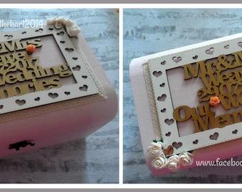 Wedding Newborn Anniversary Birthday Personalised Wooden Memory Box