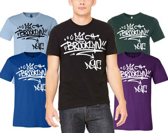 ac1881d0 Brooklyn Unisex Shirt - Graphic Tee - Brooklyn t-shirts - Brooklyn Graphic  Tees for Women & Men - Brooklyn Tee - Made in Brooklyn - New York