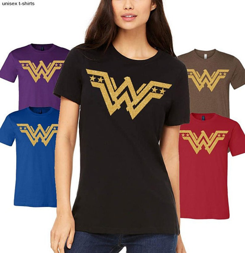30938fe0e Wonder Woman T shirt funny t-shirt Superhero T-shirts | Etsy