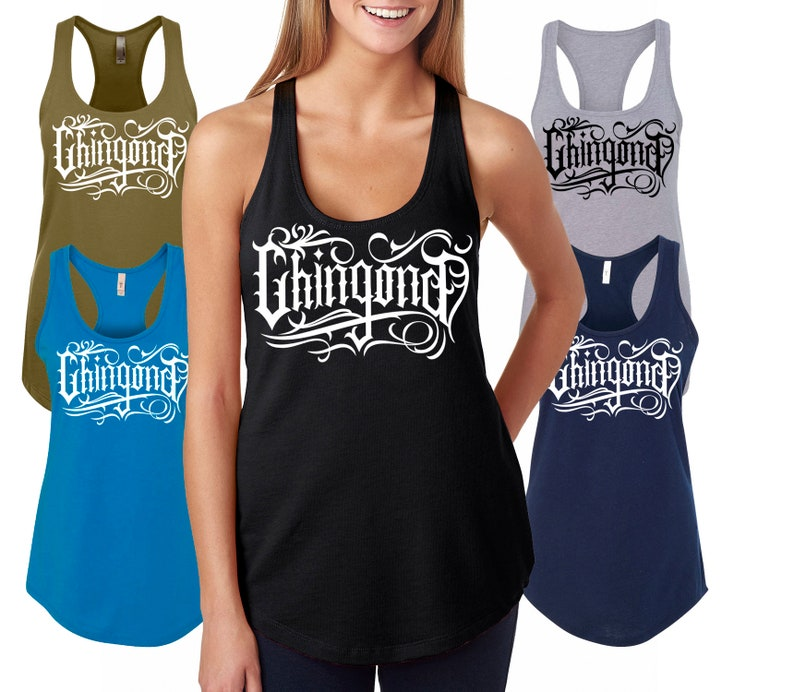 8842bd14042cc1 Badass Tank Top Chingona Shirts latina teen Chingon t