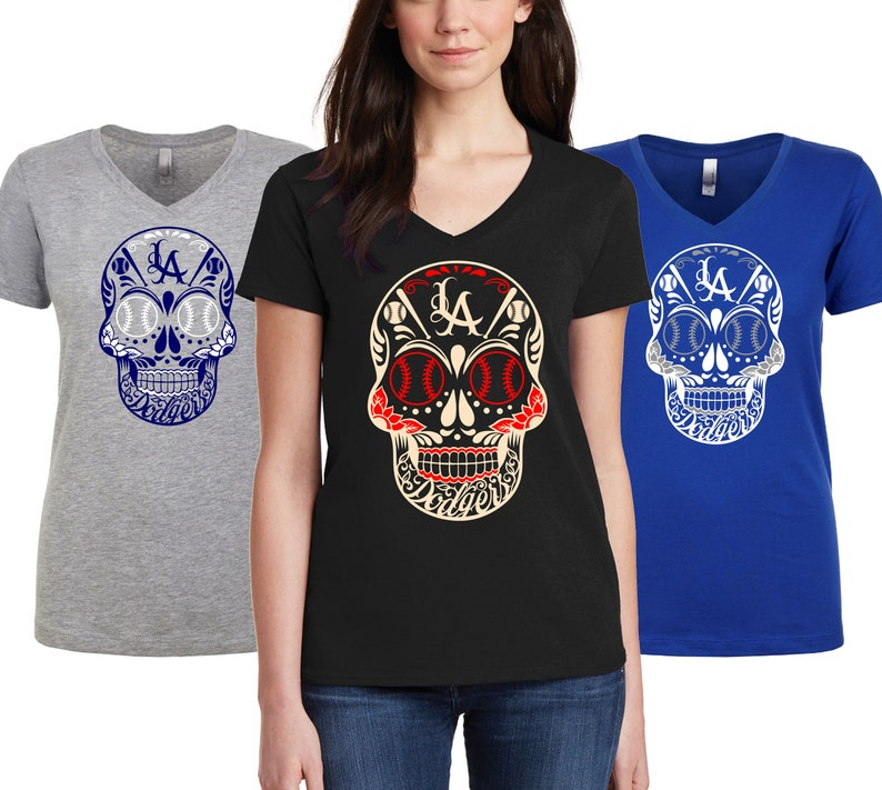 de1a70d2d0d Day Of The Dead shirt Sugar Skull tees Skull   flowers