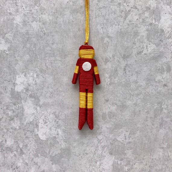 Christmas Ornaments For Sale Canada: SALE Iron Man Worry Doll Christmas Ornament Iron Man
