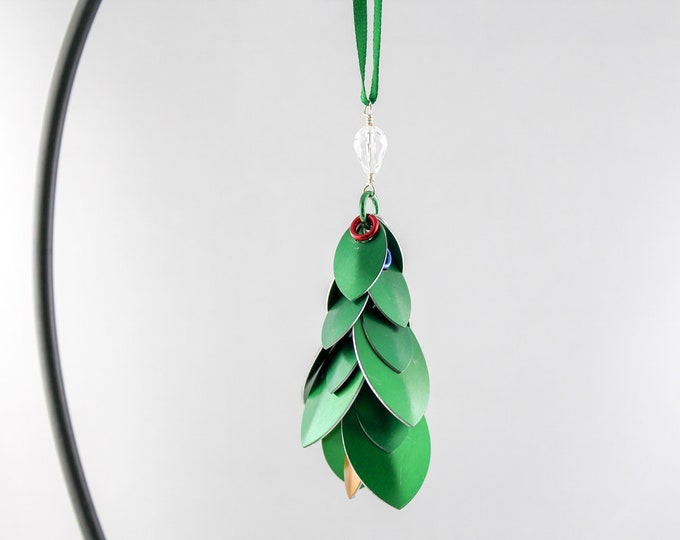 Metal Christmas Ornament -Scalemaille - Christmas Tree Ornament