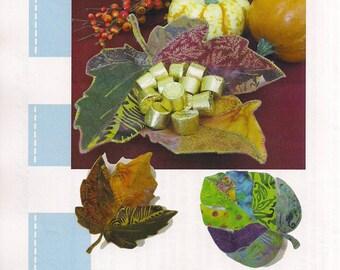 Natural Inspirations Leaf Bowl Pattern