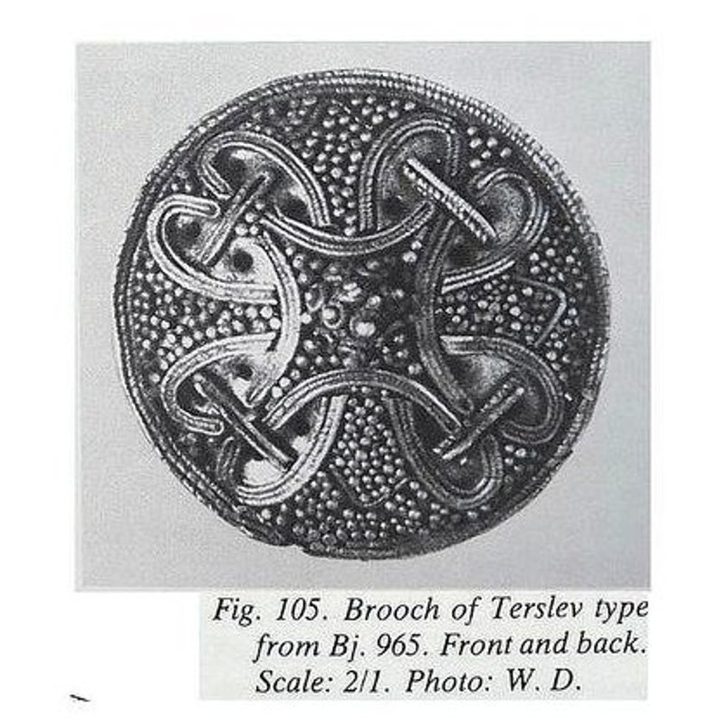 Disc brooch from Gnezdovo
