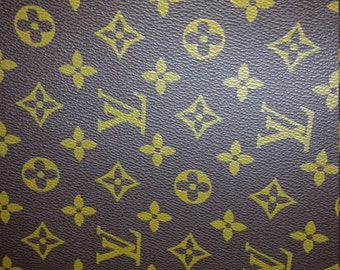 42ddf30fe13 LV Louis Vuitton inspired upholstery fabric