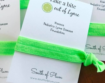 Charity Event Giveaway // Gift Bag Favor // 2 pack Elastic Hair Tie set // Fundraiser Event
