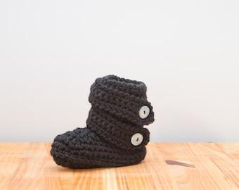 Children's Crochet Home boot, bed sock, slipper