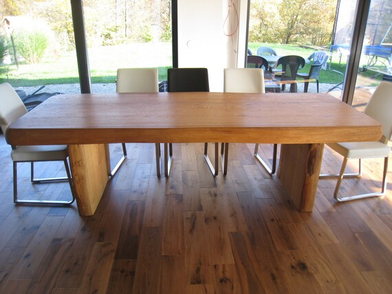 Moderna cucina Table - tavolo da pranzo stile rustico/moderno