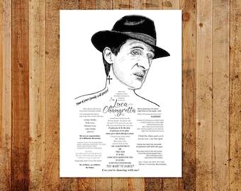 Luca Changretta Ink'd Series ' Limited/Open Ed A3 Print
