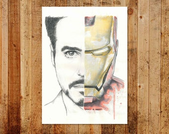 Ironman Limited/Open Edition A3 Print