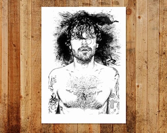 Biffy Clyro Limited/Open Print A3