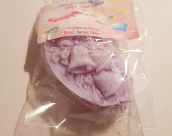 SALE - Christmas Jingle Bells Wax Melts - Parma Violet Scent