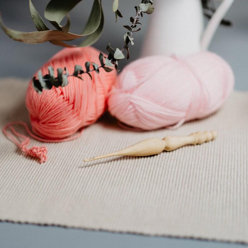 Wooden Crochet Hook 375 Mm Size F Of 100 Etsy