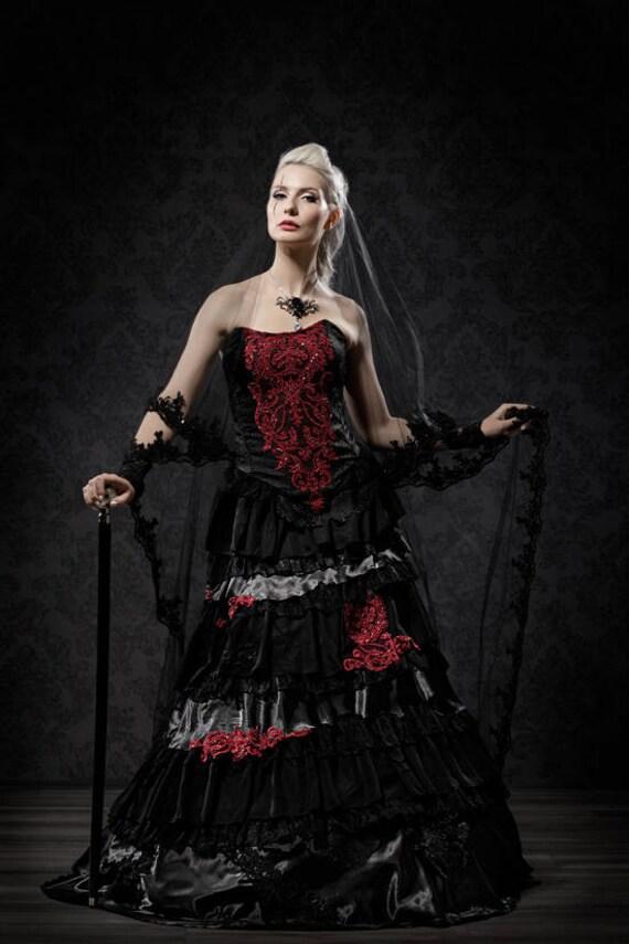 Außergewöhnliches Brautkleid Außergewöhnliches Brautkleid Außergewöhnliches Schwarzes Schwarzes eEDHYIW29