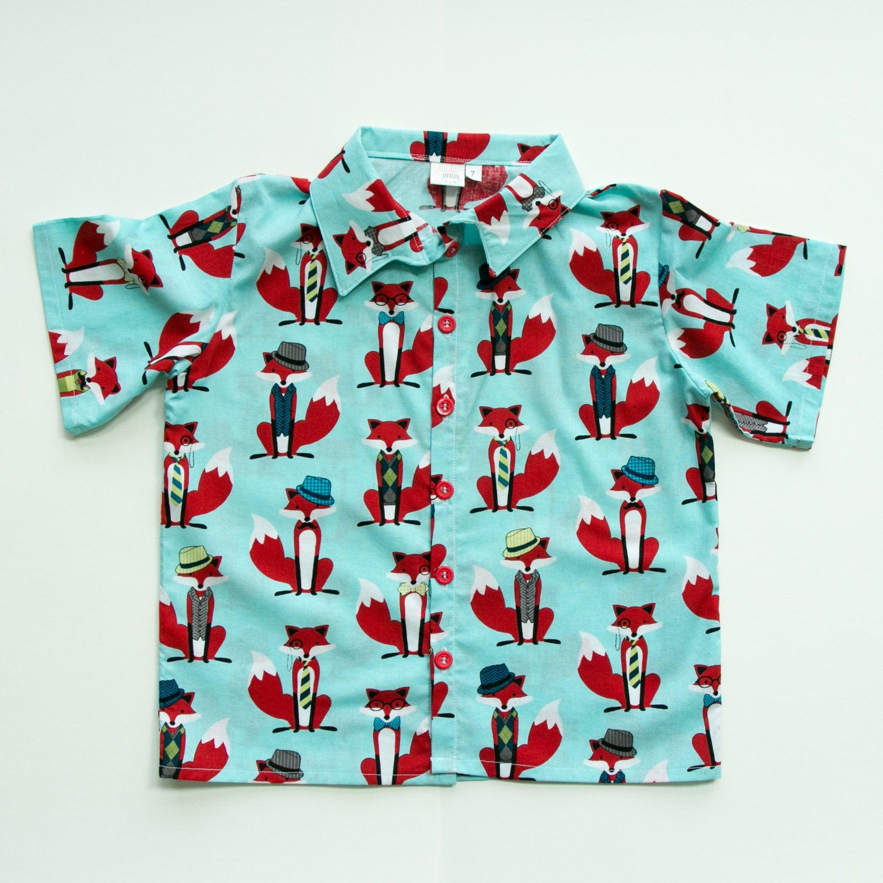 Boys Button Down Shirt Toddler Dress Shirt Button Up Etsy