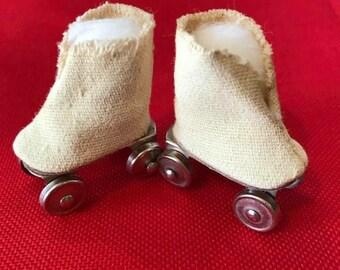 2fd6d3783f Vintage Ginny Doll Roller Skates