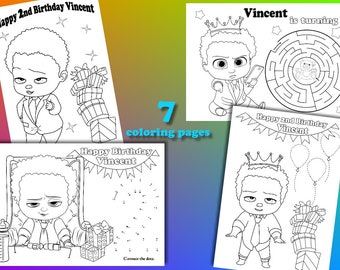 printable the Boss Baby Coloring Pages | Baby coloring pages ... | 270x340