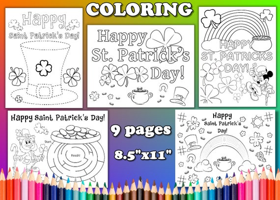 St. Patrick's Day St. Patrick's Day coloring pages