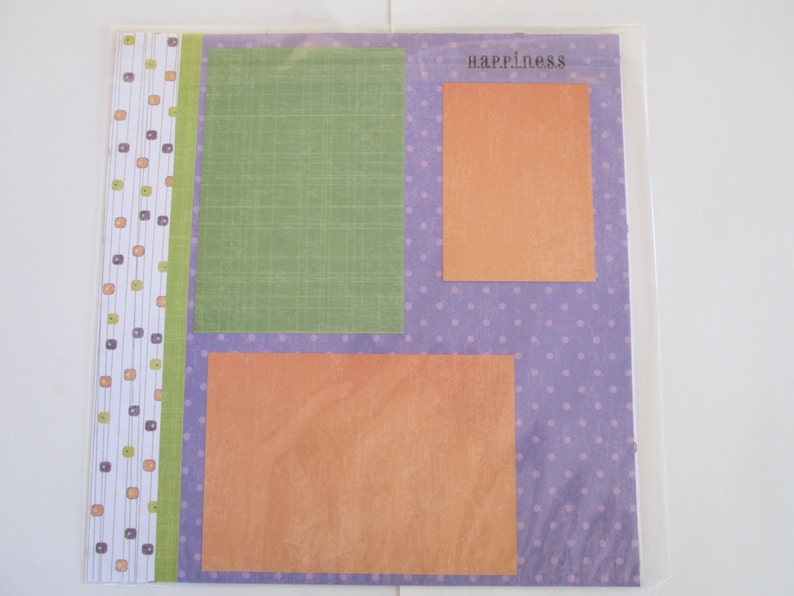 Pre-made 12x12 Scrapbook Pages Fallin/' Leaves Means It/'s Fall Indeed!