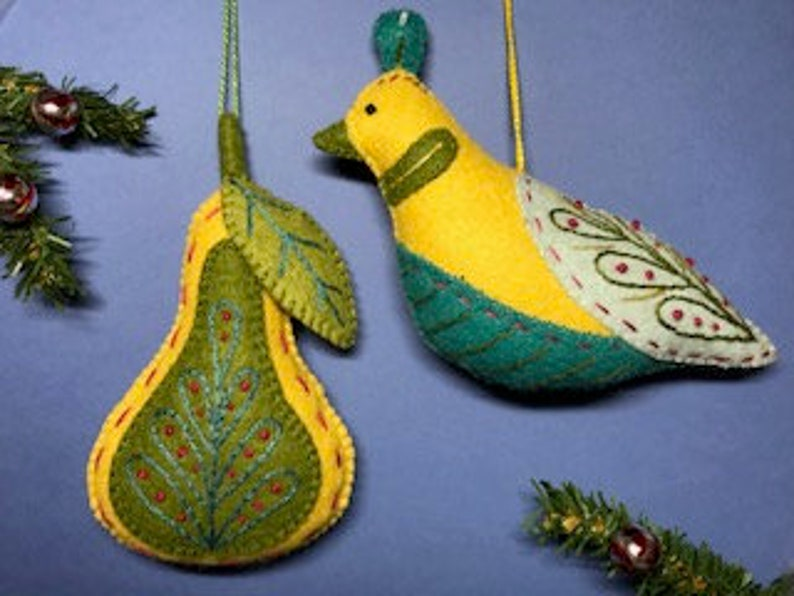 #1 Partridge In A Pear Tree Duo 12 Days of Christmas