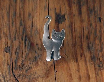 Question Mark Cat Pin