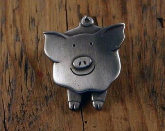 Pigs Trotters Brooch