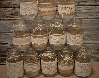 wedding centerpieces bridal shower decorations burlap mason jars no jars mason jar wedding baby shower decorations rustic centerpieces