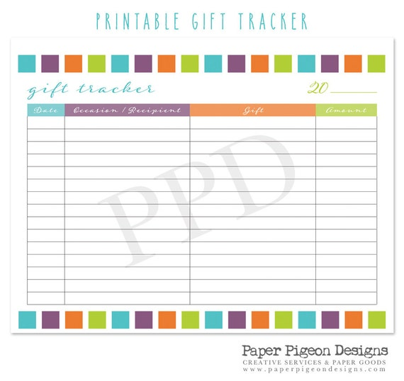 picture relating to Diy Planner Pages named Do it yourself Planner Reward Tracker Webpage - 8.5 x 11 Letter Dimension - Do It By yourself Organizer - Printable Present Tracker Internet pages - Printable Stationary Internet pages