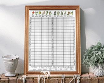 The Birthday Board   Birthday & Anniversary Calendar   Yearly Event Reminders   Perpetual Calendar   Wall Hanging Birthday Board   Framed