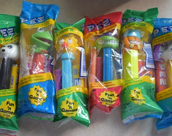 Variety of Pez Dispensers