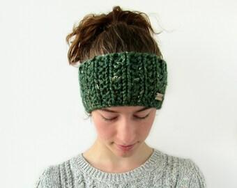 Handmade Unisex Scottish Tweed Headband Scottish Ear Warmer