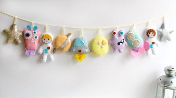 Pdf Instructions For Felt Pastel Aliens And Astronauts Etsy