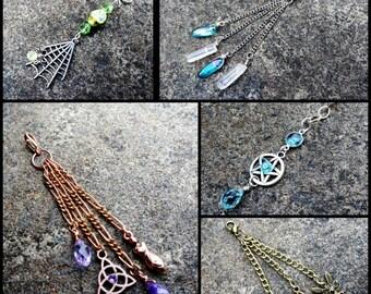 Gemstone Vape Charms, Ecig Accessories, Box Mod Charms, Customized Vaping Jewelry